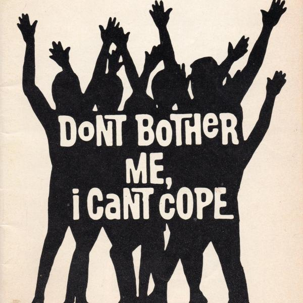 The Black Rep presents: Don't Bother Me, I Can't Cope