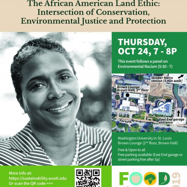 """The African American Land Ethic: The Intersection of Conservation, Environmental Justice, and Protection"""
