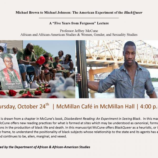 Michael Brown to Michael Johnson: The American Experiment of the BlackQueer