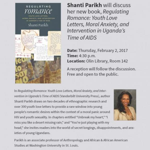 Library Faculty Book Talk: Shanti Parikh
